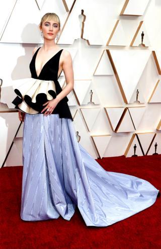 Saoirse Ronan sur le tapis rouge