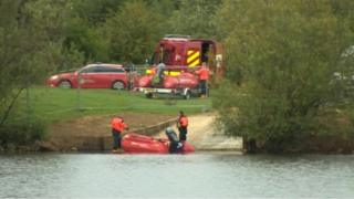 Search at Leybourne Lakes