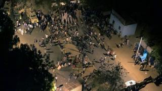 ساحة الاعتصام في الخرطوم
