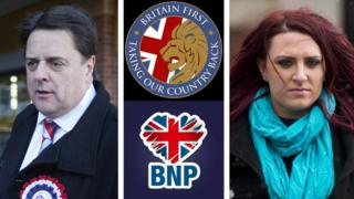 Nick Griffin and Jayda Fransen