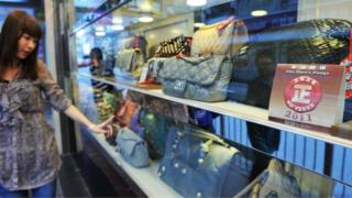 Luxury goods are very popular among wealthy Chinese youths