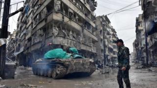 Aleppo timur