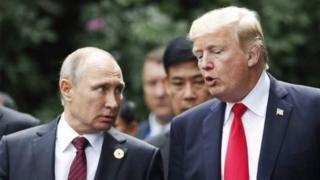 Trump, Putin, APEC