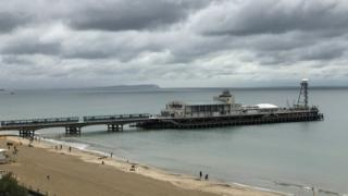 Bournemouth Pier from West Cliff
