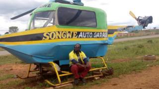 Adam Kinyekire aliwahi kuunda helikopta lakini ikapigwa marufuku