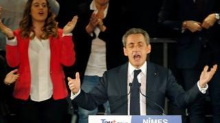 Бывший президент Николя Саркози
