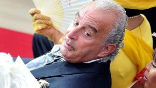 Sir Philip Green with Naomi Capmbell