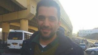 Photo of Bahman Daroshafaei posted by friends after his release from prison in Tehran on 23 February 2016