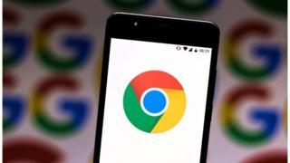 Google screen on phone