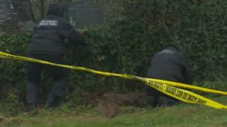 Search teams were sent to the church over the weekend