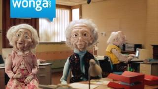 Wonga UK advert