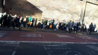 Queen Street queues