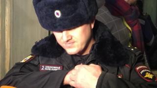 """Полицейские на конференции """"Открытой России"""""""