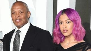 Dr Dre and his daughter Truly