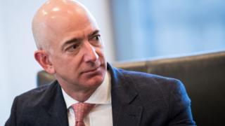 Amazon's chief executive Jeff Bezos