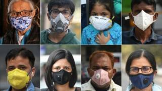 印度,空氣,污染,地球,記者