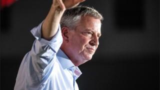 Bill de Blasio: New York mayor pulls out of US presidential race