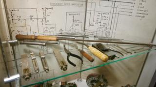 John Cane's tools