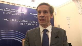 Ông Justin Wood, Giám đốc khu vực Châu Á - Thái Bình Dương của WEF