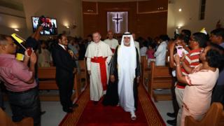 افتتاح كنيسة في دولة الإمارات