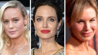 hollywood Brie Larsson, Angelina Jolie and Renée Zellweger
