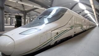 القطار السعودي السريع
