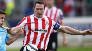 Former Derry City captain Barry Molloy