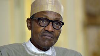 Nigeria President Muhammadu Buhari.
