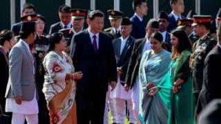 नेपाल में चीन के राष्ट्रपति