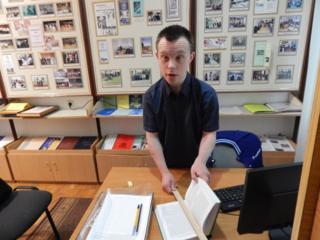 Поки що читання - основне завдання Богдана