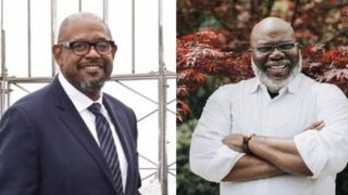 TD Jakes and Forest Whitaker