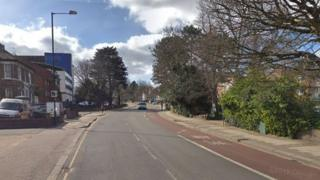 A Google Streetview of Harrow Road in Wembley