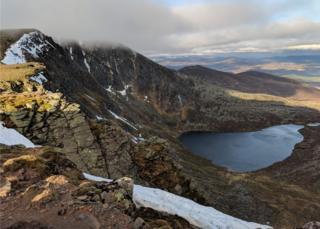 The Loch at Lochnagar
