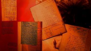 संग्रहालय में रखे पत्र