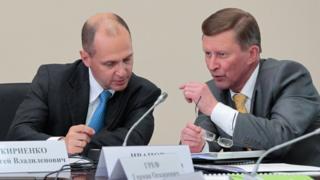 Сергей Кириенко и Сергей Иванов