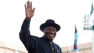 Tsohon shugaban Najeriya, Goodluck Jonathan