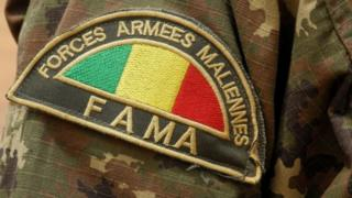 Badge for the army in Mali