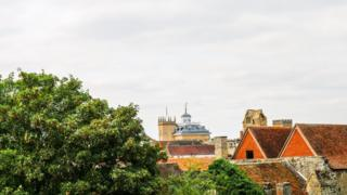 Abingdon skyline