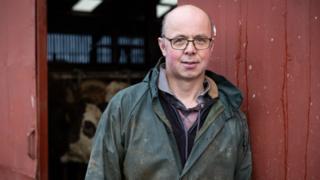 Farmer Alister Donaldson