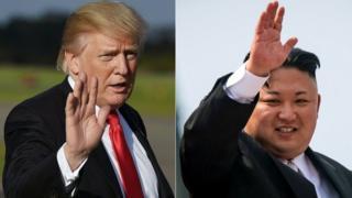 Trump,Kim