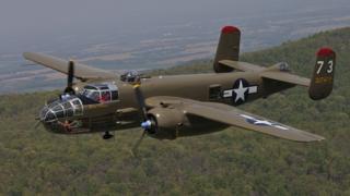 """Американский бомбардировщик Второй мировой войны """"Mitchell В-25"""""""