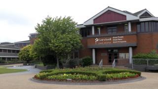 Sandwell council house