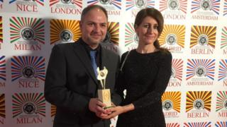 Kevin Phillips gets award