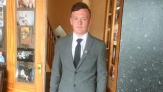 Colin Hornsby, 17, from Droylsden, Greater Manchester