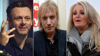 Michael Sheen, Rhys Ifans and Bonnie Tyler