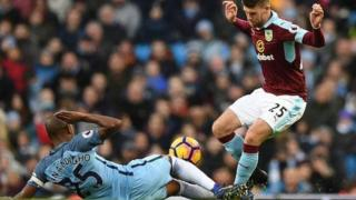 Fernandinho's third red card in six games for City means he will be banned for four matches and not available again until 5 February.