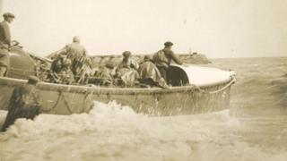Launch of Hastings lifeboat