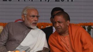 नरेंद्र मोदी और योगी आदित्यनाथ
