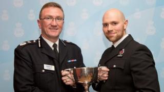 Chief Con Ian Hopkins / PC Ed Barker