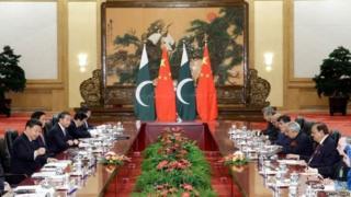 चीन और पाकिस्तान की बस सेवा